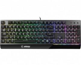 Klávesnice MSI Vigor GK30, herní, RGB podsvícení, CS/SK, černá