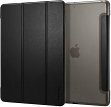 """Knižní pouzdro Spigen CMH2012BK na tablet iPad 10.2"""", černá kůže"""
