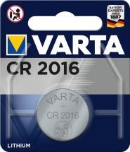 Knoflíková baterie Electronics CR2016