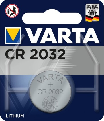 Knoflíková baterie Varta CR-2032