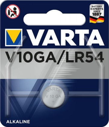 Knoflíková baterie Varta V10GA/LR54
