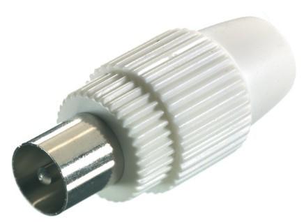 Koaxiální kabely, konektory Koaxiální konektor V48000, samec