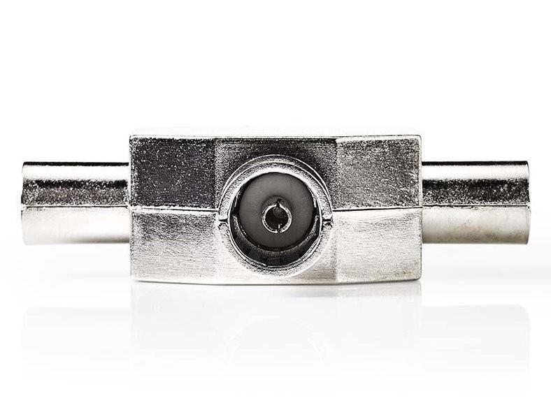 Koaxiální kabely, konektory Nedis anténní rozbočovač 2 x IEC zástrčka - 1 x IEC zásuvka