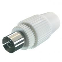 Koaxiální konektor Vivanco 43001, samice