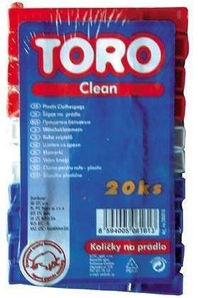 Kolíčky na prádlo 280010 20ks plast 11,5xX7,5X3cm plast MO