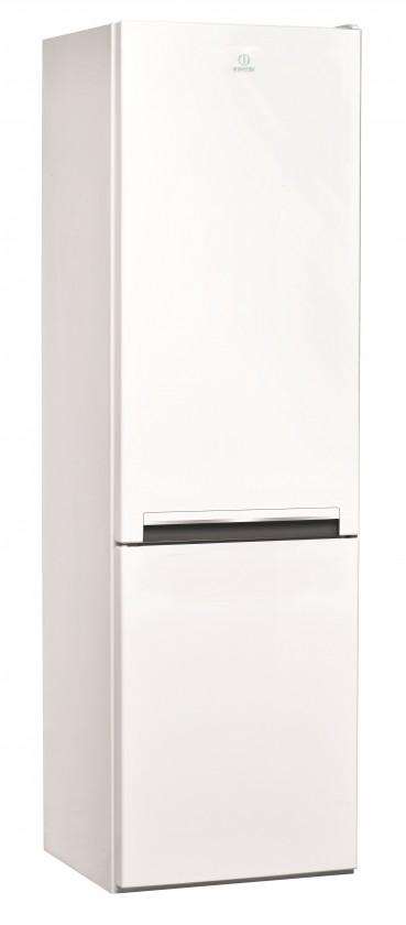 Kombinovaná lednice Indesit  LI7 S1 W VADA VZHLEDU, ODĚRKY