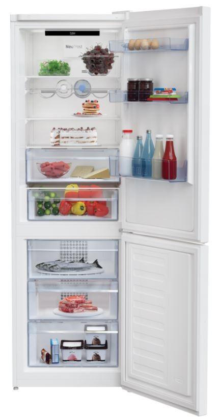 Kombinovaná lednice Kombinovaná lednice s mrazákem dole BEKO MCNA366E40W, A+++