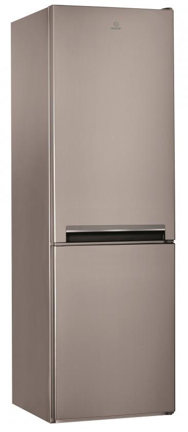 Kombinovaná lednice Kombinovaná lednice s mrazákem dole Indesit  LI8 S1 X, A+