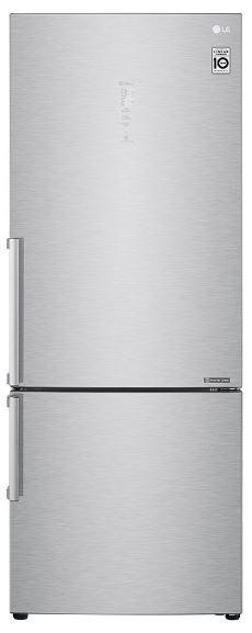 Kombinovaná lednice Kombinovaná lednice s mrazákem dole LG GBB569NSAFB, A+++