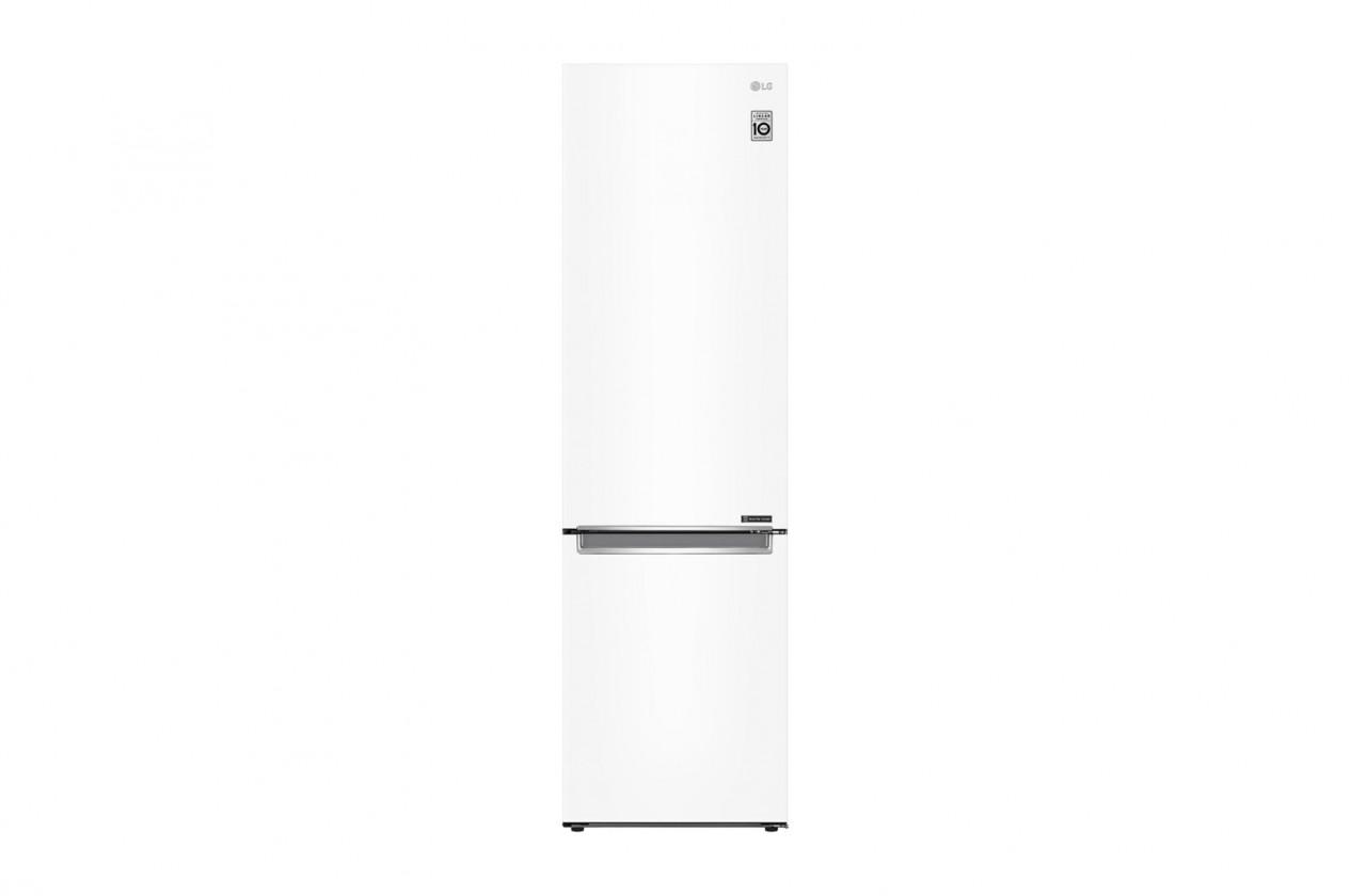 Kombinovaná lednice Kombinovaná lednice s mrazákem dole LG GBB71SWEFN, A+++