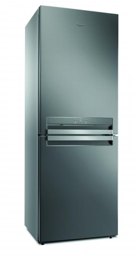 Kombinovaná lednice Kombinovaná lednice s mrazákem dole Whirlpool B TNF 5323 OX,