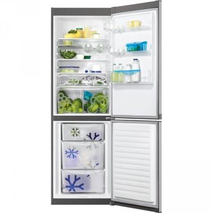 Kombinovaná lednice Kombinovaná lednice s mrazákem dole Zanussi ZRB 36104XA, A++