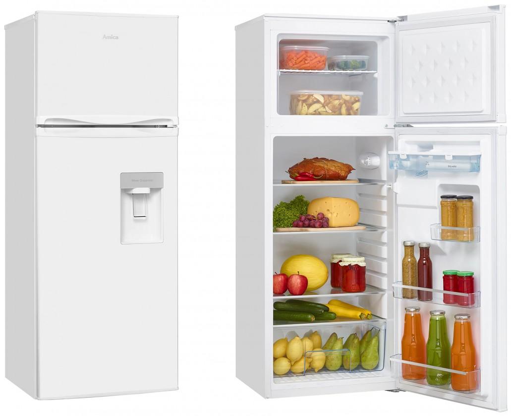 Kombinovaná lednice Kombinovaná lednice s mrazákem nahoře Amica VD 1441 AWW