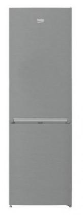 Kombinovaná lednice s mrazákem dole beko CSA 270M30 X, A++
