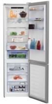 Kombinovaná lednice s mrazákem dole BEKO MCNA406E30ZXB, A++