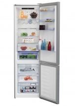 Kombinovaná lednice s mrazákem dole BEKO MCNA406E30ZXB, A++ MÍRNÁ