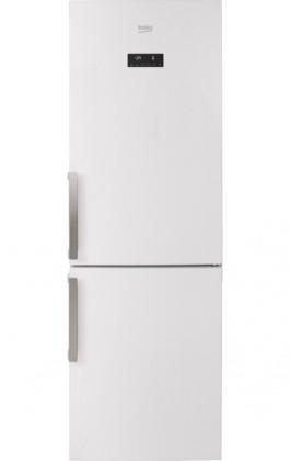 Kombinovaná lednice s mrazákem dole BEKO RCNA 365 E31W, A++