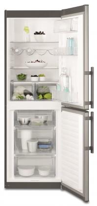 Kombinovaná lednice s mrazákem dole Electrolux EN 3201MOX, A++
