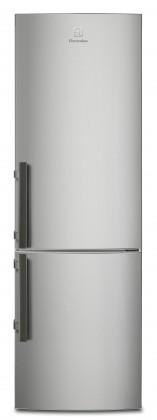 Kombinovaná lednice s mrazákem dole Electrolux EN 3601 MOX, A++