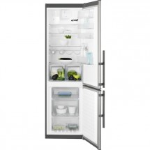 Kombinovaná lednice s mrazákem dole Electrolux EN3853MOX, A++