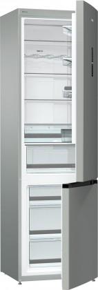 Kombinovaná lednice s mrazákem dole Gorenje NRK6203TX4, A+++