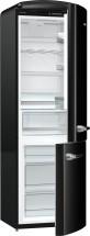 Kombinovaná lednice s mrazákem dole Gorenje ORK192BK, A++