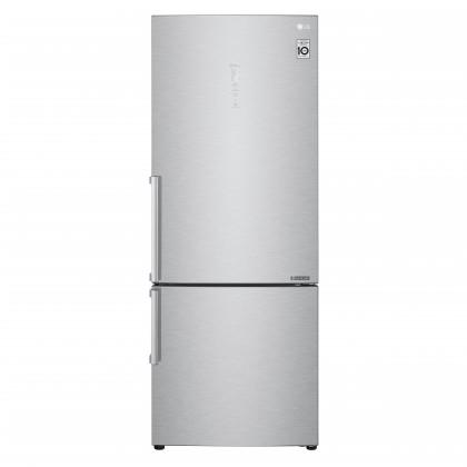 Kombinovaná lednice s mrazákem dole LG GBB569NSAFB, A+++