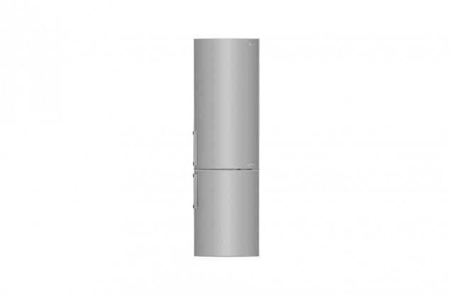 Kombinovaná lednice s mrazákem dole LG GBB60PZGFB, A+++