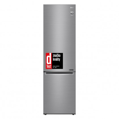 Kombinovaná lednice s mrazákem dole LG GBB62PZGFN, A+++