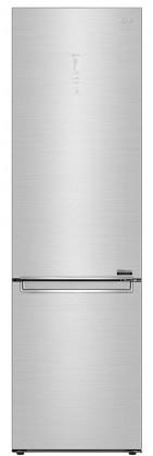 Kombinovaná lednice s mrazákem dole LG GBB92STAQP, A+++