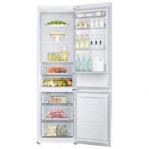 Kombinovaná lednice s mrazákem dole Samsung RB37J500MWW, A+++