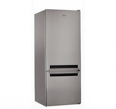 Kombinovaná lednice s mrazákem dole Whirlpool BLF 5121 OX, A+