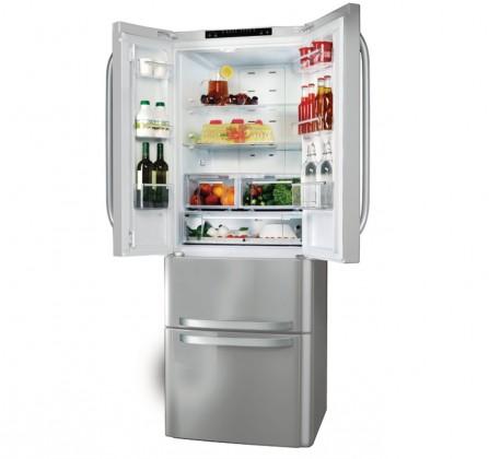 Kombinovaná lednice s mrazákem dole Whirlpool W4D7 AAA X C