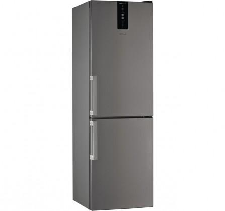 Kombinovaná lednice s mrazákem dole Whirlpool W7 831T OX H