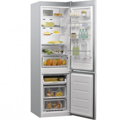 Kombinovaná lednice s mrazákem dole Whirlpool W9 931D IX A+++