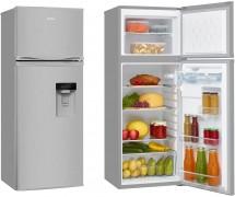 Kombinovaná lednice s mrazákem nahoře Amica VD 1441 AWX
