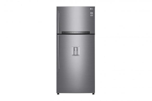 Kombinovaná lednice s mrazákem nahoře LG GTF916PZPYD