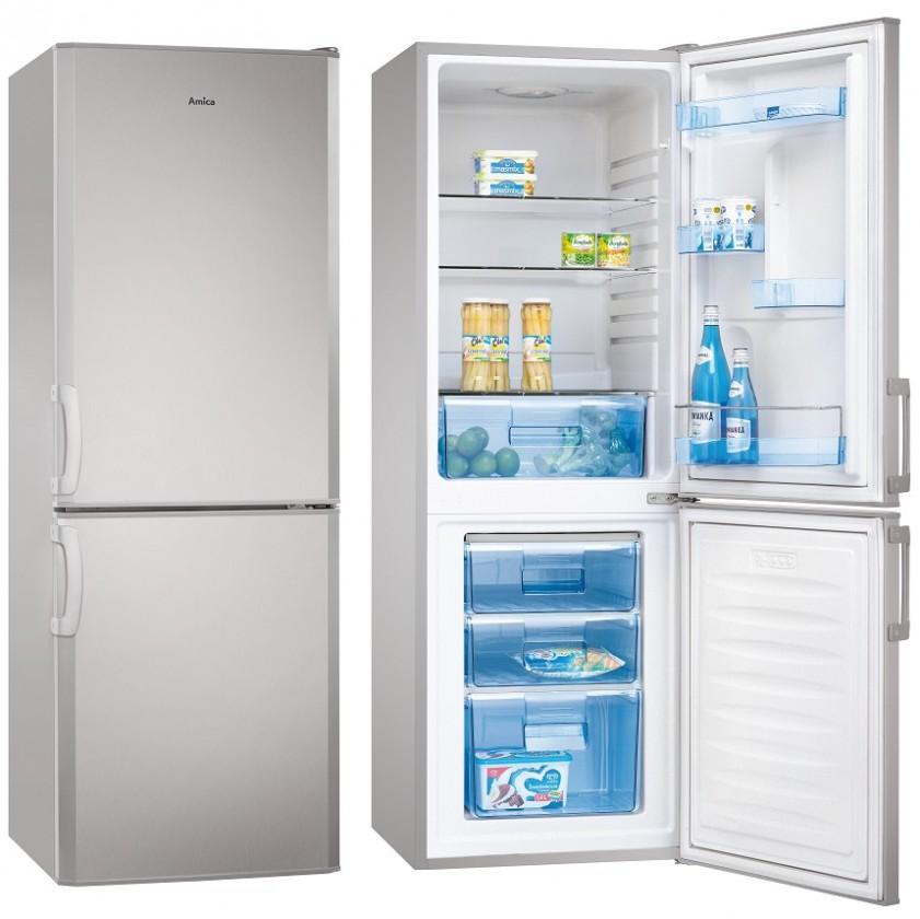 Kombinovaná lednička Amica FK265.3 SAA