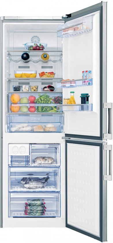 Kombinovaná lednička Beko CN 136232 X