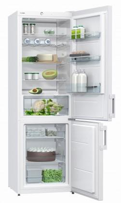 Kombinovaná lednička Gorenje RK 6192 AW  VADA VZHLEDU, ODĚRKY