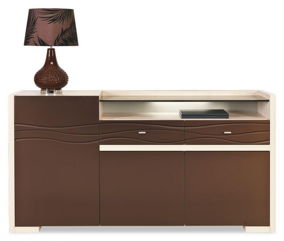 Komoda Cava - CV 4, Komoda (thuje/metalic bronz)