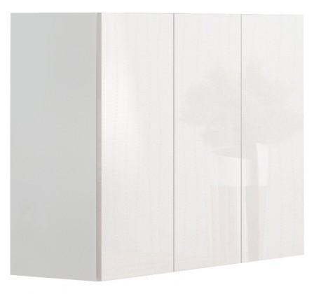 Komody Livo - Komoda 120 (bílá mat/bílá lesk)