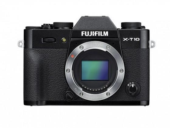 Kompakt s výměnným objektivem Fujifilm X-T10 Black (16470128)