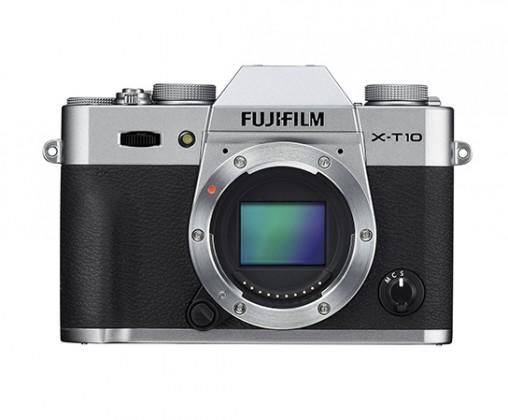 Kompakt s výměnným objektivem Fujifilm X-T10 Silver (16470312)