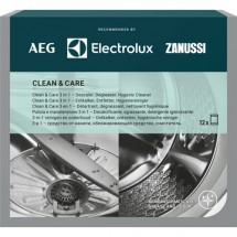 Kompletní péče o pračku a myčku AEG Clean and Care M3GCP400, 3v1