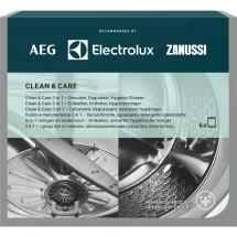 Kompletní péče o pračku AEG Clean and Care, 3v1, 6ks