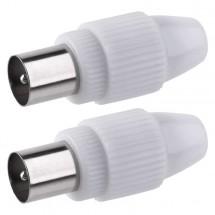 Konektor Emos K13312, IEC vidlice, 2ks