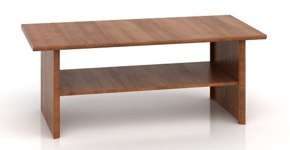 Konfereční stolek - dřevěný Bolden LAW (Višeň primavera)