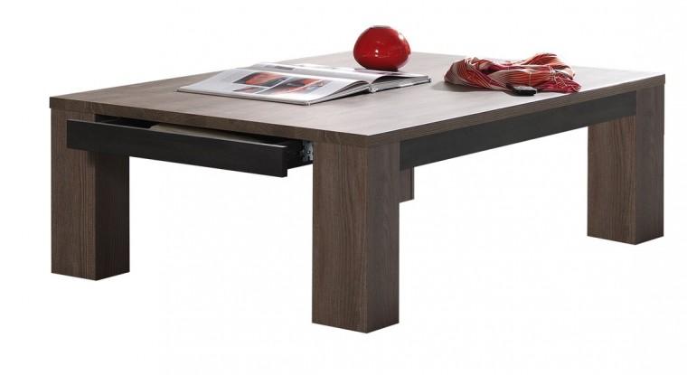 Konfereční stolek - dřevěný Caldare - Kávový stůl C196 (borovice camargue)