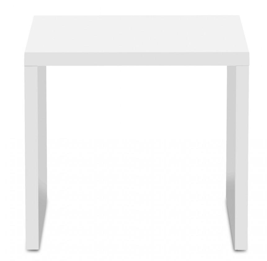 Konfereční stolek - dřevěný Cool - Konferenční stolek 3272350 (bílá)